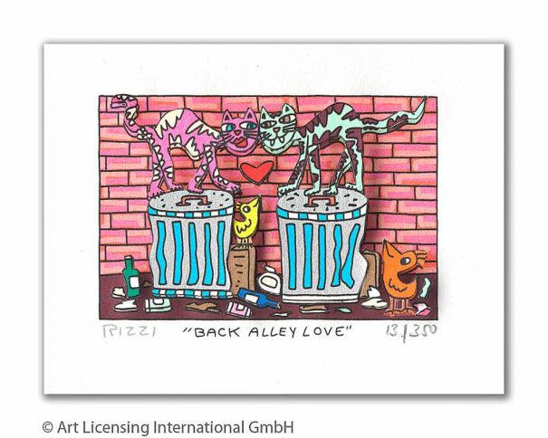 "James Rizzi ""Back Alley Love"""