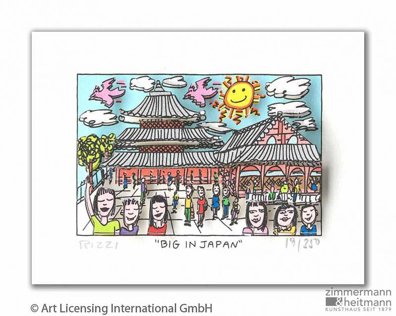"James Rizzi ""Big In Japan"""