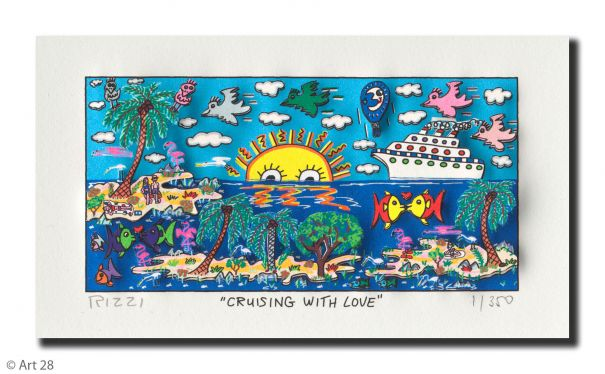 "James Rizzi ""Cruising With Love"""