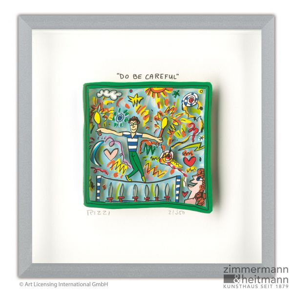 "James Rizzi ""Do be careful"""