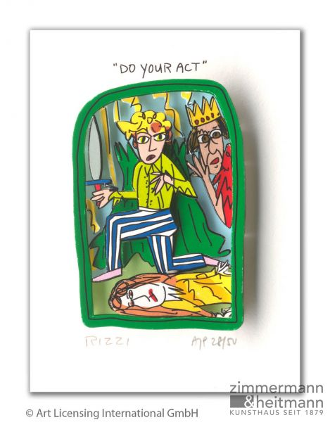 "James Rizzi ""Do your act"""