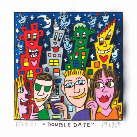 "James Rizzi ""Double Date"""