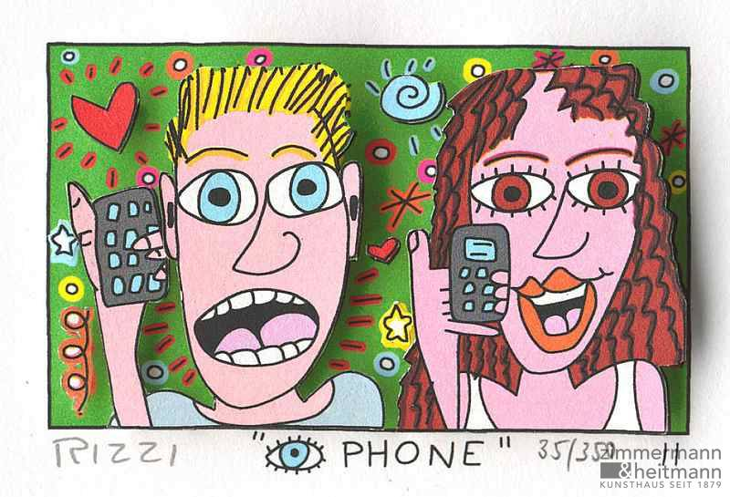 "James Rizzi ""Eye Phone"""