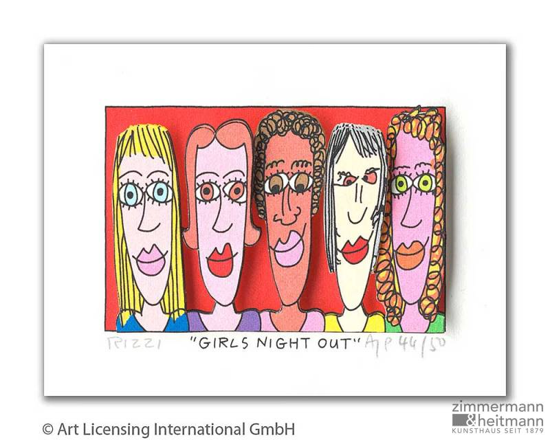 "James Rizzi ""Girls Night Out"""