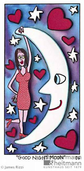 "James Rizzi ""Good night Moon"""
