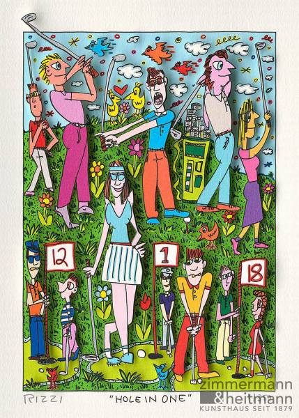 "James Rizzi ""Hole in One"""