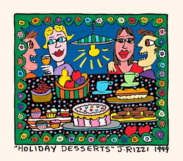 "James Rizzi ""Holiday Desserts"""