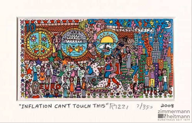 "James Rizzi ""INFLATION CAN´T TOUCH THIS"""