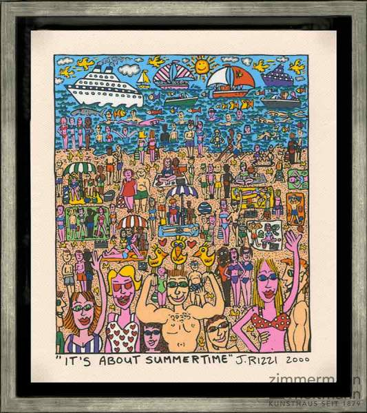 "James Rizzi ""It's About Summertime"""
