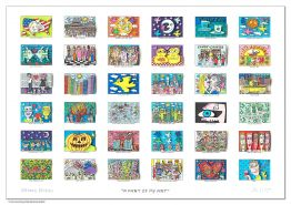 "James Rizzi ""A Part Of My Art"" aus dem Jahr 2015"