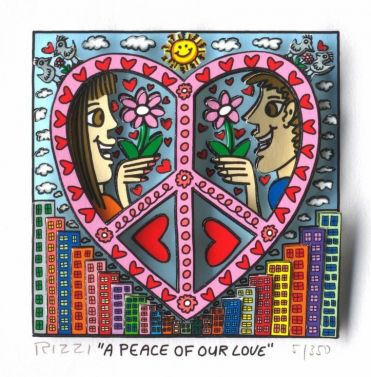 "James Rizzi ""A Peace of our Love"""