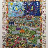 A Village for the World von James Rizzi aus dem Jahr 1997