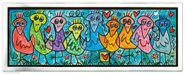 "James Rizzi ""Birds Of A Beautiful Color"""