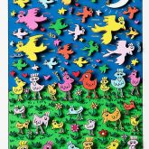 Birds of a feather flock together von James Rizzi aus dem Jahr 2013