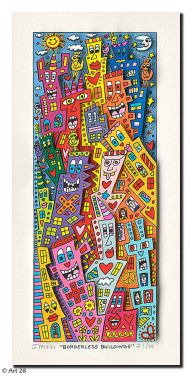 "James Rizzi ""Borderless Buildings"" aus dem Jahr 2015"