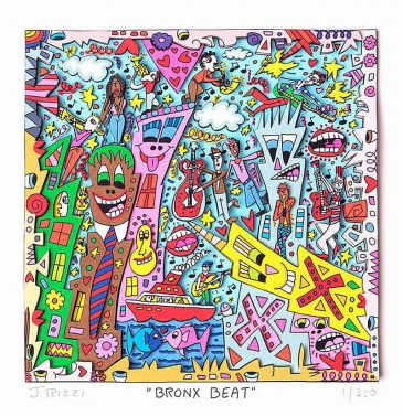 "James Rizzi ""Bronx Beat"""