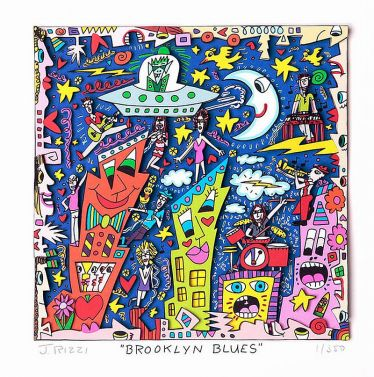 "James Rizzi ""Brooklyn Blues"""