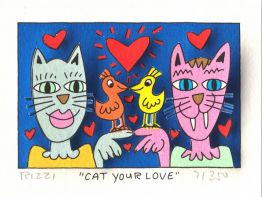 "James Rizzi ""Cat your Love"""
