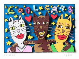 "James Rizzi ""Cool Cats"""