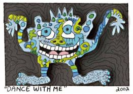 Dance with me von James Rizzi