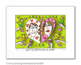 "James Rizzi ""Don't Go Breaking My Heart"""
