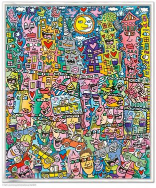 "James Rizzi ""Getting the most out of Life"" aus dem Jahr 2016"