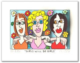"James Rizzi ""Girls will be girls"""