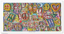 "James Rizzi ""Give Peace A Chance"" aus dem Jahr 2016"