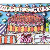 Happy Birthday von James Rizzi