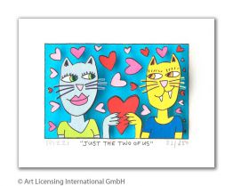 "James Rizzi ""Just The Two Of Us"""