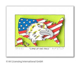 "James Rizzi ""Land Of The Free"""