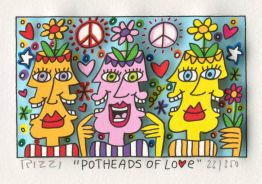 "James Rizzi ""Potheads of Love"""