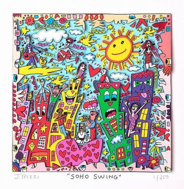 "James Rizzi ""Soho Swing"""