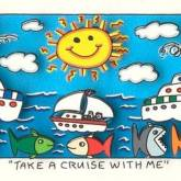 Take a Cruise with Me von James Rizzi aus dem Jahr 2014