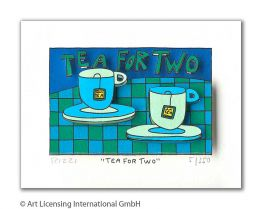 "James Rizzi ""Tea For Two"""
