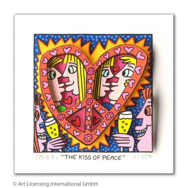 "James Rizzi ""The Kiss of Peace"""