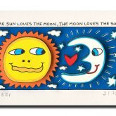 The Sun Loves The Moon, The Moon Loves The Sun von James Rizzi aus dem Jahr 2014