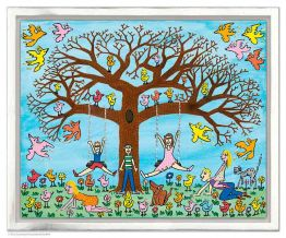 "James Rizzi ""Tree Times The Fun"""