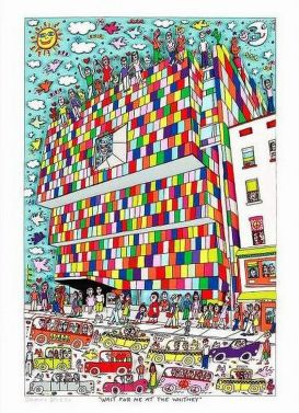 "James Rizzi ""Wait for me at the Whitney"""