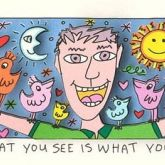 What you see is what you get von James Rizzi aus dem Jahr 2014