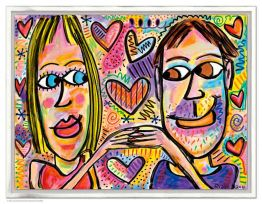 "James Rizzi ""You Make Me Happy"""