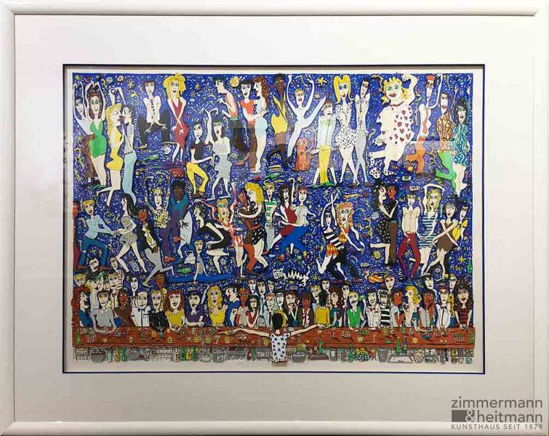 "James Rizzi ""Let The Good Times Roll (A/P) 1988"""