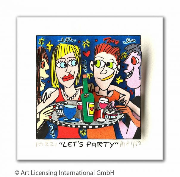 "James Rizzi ""Let's party"""