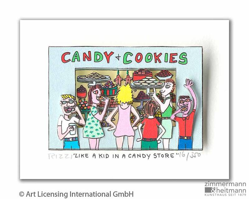 "James Rizzi ""Like A Kid In A Candy Store"""
