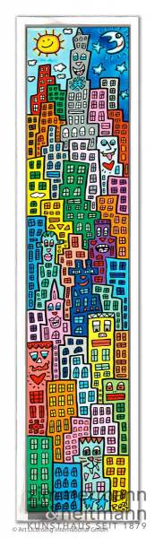 "James Rizzi ""Living On A Rainbow Road"""