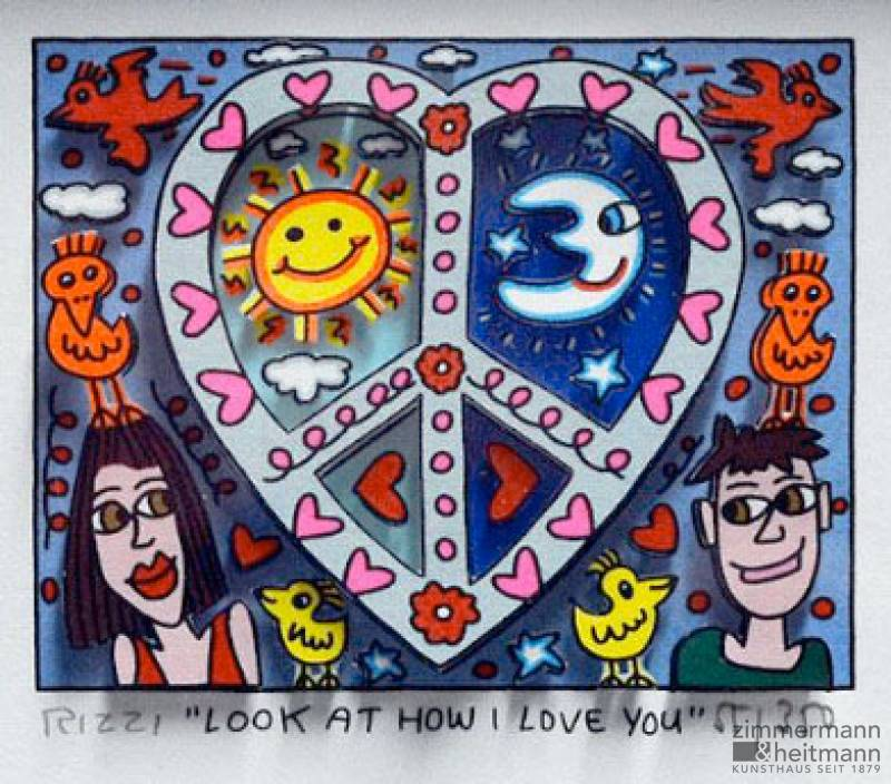 "James Rizzi ""Look At How I Love You"""