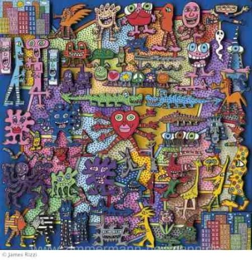 James Rizzi - Magnetic Game - Magnetspiel