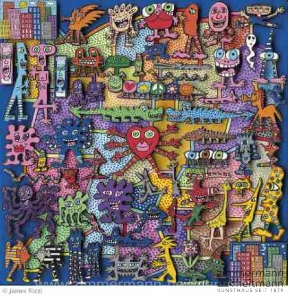 "James Rizzi ""Magnetic Game - Magnetspiel"""