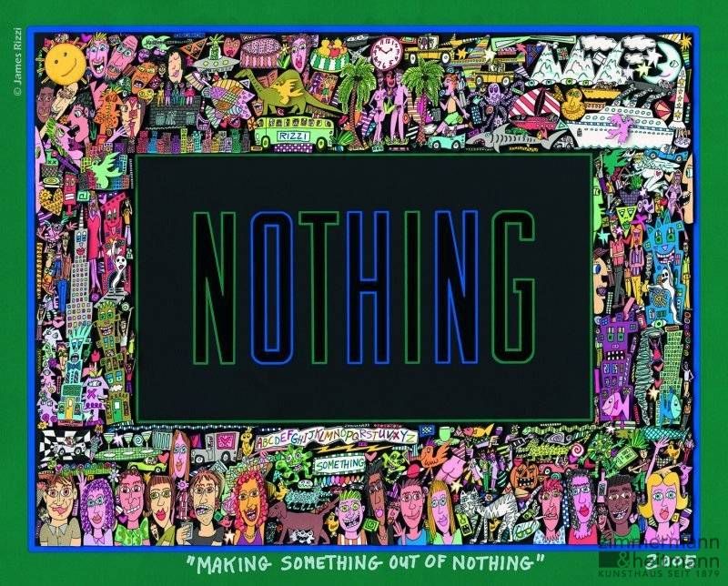 "James Rizzi ""Making Something out of Nothing"""