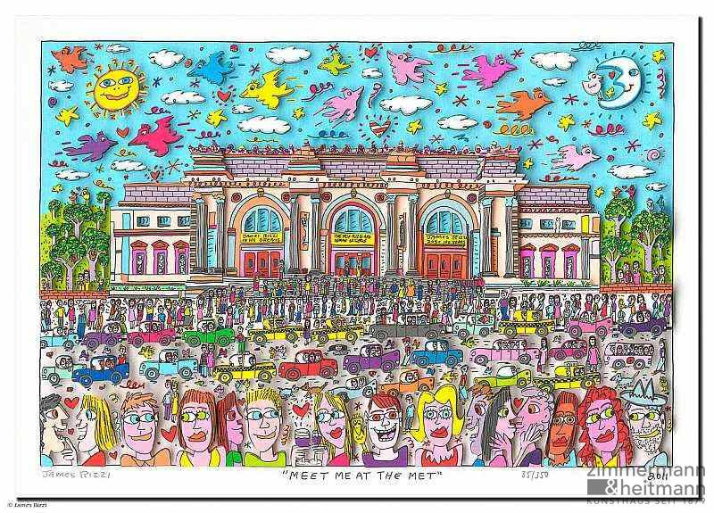 "James Rizzi ""Meet Me At The Met"""